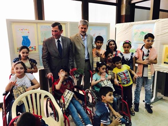 معرض للأطفال ذوي الاحتياجات الخاصة
