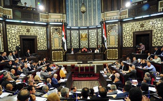 مجلس الشعب يواصل مناقشة مشروع نظامه الداخلي