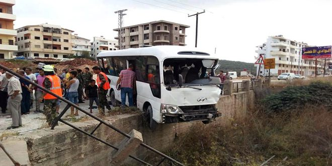 حادث مروري يودي بحياة شخصين في طرطوس