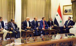 المفتي حسون للوفد الصناعي والتجاري الروسي:  الشعب السوري بدأ يحصد نتائج صموده