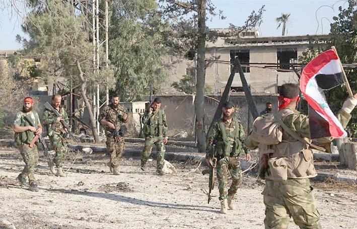 """19 شهيداً في مجزرة جديدة لـ """"التحالف الأمريكي"""" في ريف دير الزور  الجيش يحكم سيطرته على كامل بادية السويداء بجميع المخافر الحدودية مع الأردن"""