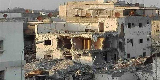 قوات نظام بني سعود تغلق بلدة العوامية