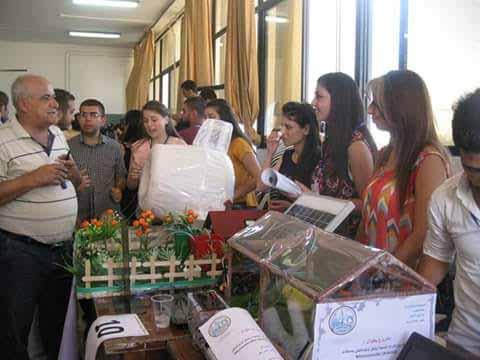 طلاب هندسة طرطوس  يبدعون في مشاريع تخرجهم
