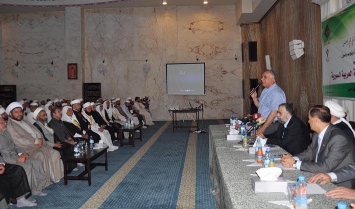 إطلاق مشروع المنهج العام لخطب الجمعة في حمص  السيد: تطوير الخطاب الديني لتحصين البلاد ضد الفكر الوهابي التكفيري