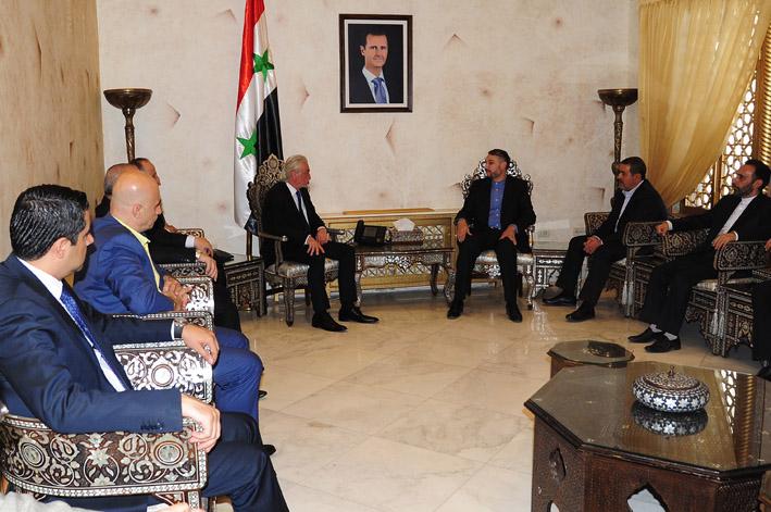 مباحثات سورية إيرانية لتعزيز التعاون البرلماني ومتطلبات إعادة الإعمار