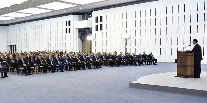 بالفيديو..كلمة الرئيس الأسد خلال افتتاح مؤتمر وزارة الخارجية والمغتربين