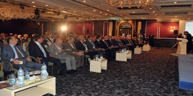 انطلاق أعمال ملتقى الحوار الاقتصادي السوري الأول