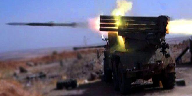 """الجيش يوجه ضربات مكثفة على مناطق انتشار """"داعش"""" في دير الزور"""