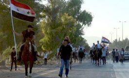 مسير للخيول من جسر عقربا إلى مدينة المعارض