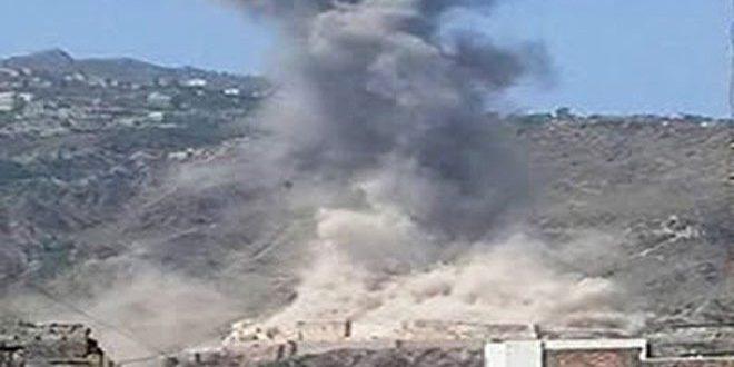 مقتل وإصابة 6 يمنيين بغارة للنظام السعودي على محافظة حجة