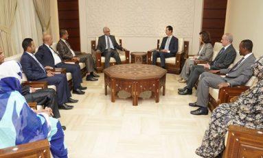 الرئيس الأسد يستقبل وفداً برلمانياً موريتانياً: العروبة انتماء وليست أفكاراً في الكتب