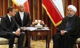 روحاني يؤكد ضرورة التعاون بين إيران وفرنسا لمكافحة الإرهاب وحل أزمات المنطقة