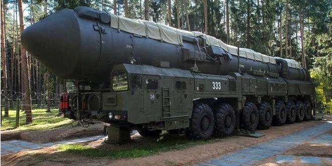 تجربة ناجحة لإطلاق صاروخ باليستي برأس متشظ عبر كامل الأراضي الروسية