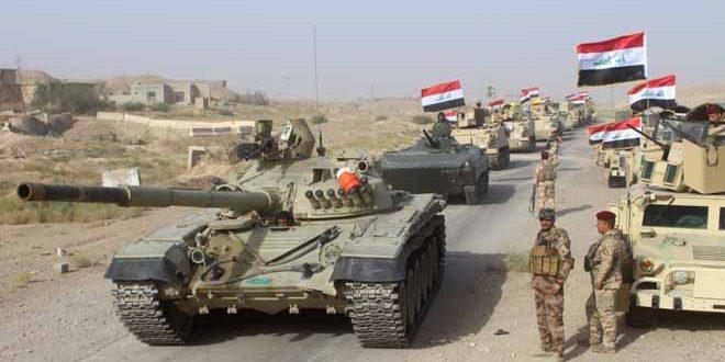 """الجيش العراقي يقضي على30 إرهابياً من """"داعش"""" قرب تلعفر"""