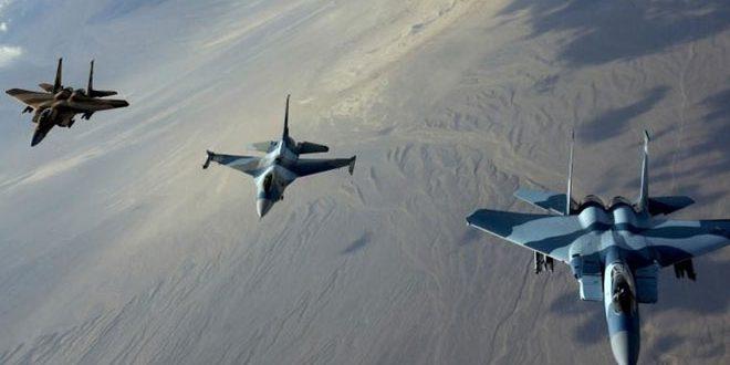 """طيران """"التحالف الأمريكي"""" يرتكب مجزرتين في الرقة ودير الزور"""