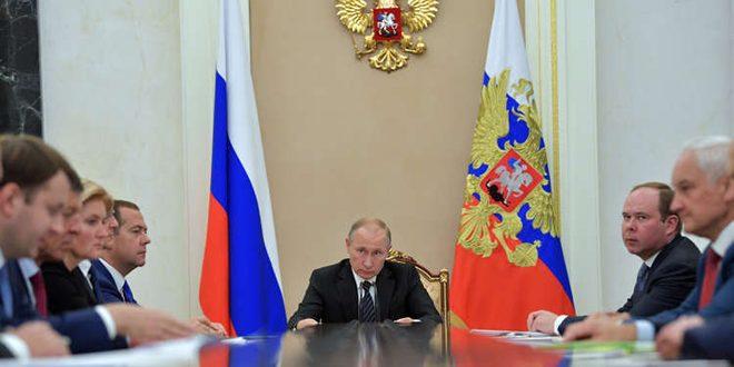 بوتين: الاقتصاد الروسي تجاوز الأزمة واكتسب زخماً باتجاه النمو