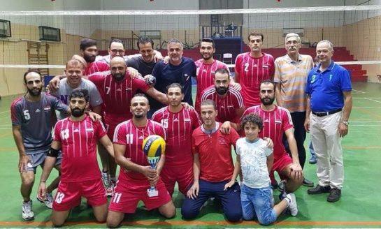 الشرطة بطل سورية بالرجال في الكرة الطائرة للمرة التاسعة والعشرين في تاريخه