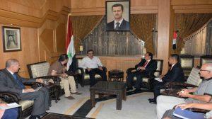 مباحثات سورية إندونيسية للمشاركة في إعادة إعمار حلب