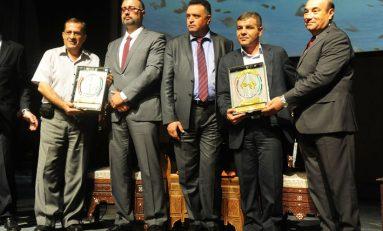 """في مهرجان الإعلام الأول """"حكاية صمود"""" الضيوف العرب يحيّون فرسان الحقيقة في سورية"""
