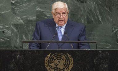 المعلم يلقي كلمة سورية أمام الجمعية العامة للأمم المتحدة: ماضون في اجتثاث الإرهاب.. وأي حل يجب أن يُبنى على الثوابت الوطنية