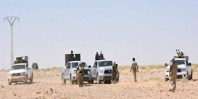 الجيش يفرض سيطرته على مساحات جديدة في محيط بلدة التبني بريف دير الزور الغربي