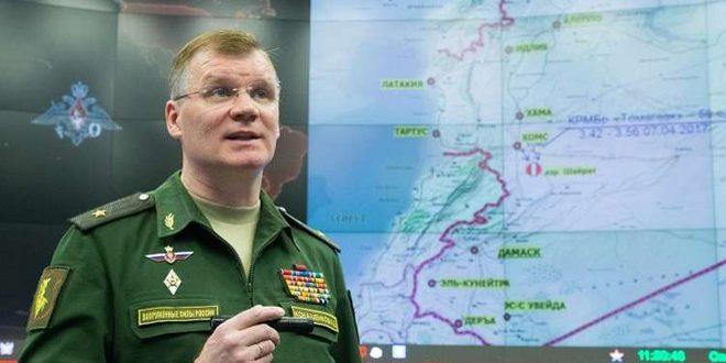 """الدفاع الروسية: واشنطن متورطة في دعم """"داعش"""" وتحاول إفشال منطقة تخفيف التوتر جنوب سورية"""