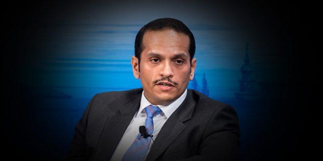 وزير خارجية مشيخة قطر يتهم نظام بني سعود بمحاولة تغيير النظام في بلاده