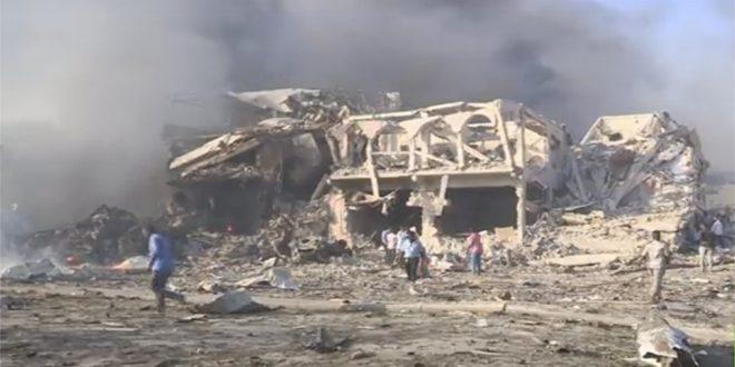 53 قتيلاً حصيلة التفجيرين الإرهابيين في مقديشو