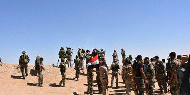 الجيش يسيطر على 8 آلاف كم مربع في ريف دمشق الجنوبي الشرقي