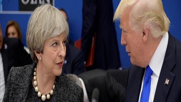 """""""ماي"""" في صفعة لـ """"ترامب"""": أوروبا ملتزمة بالاتفاق النووي"""