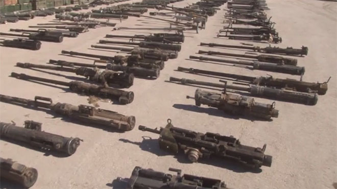 """أستانة 7 آواخر الشهر.. وبوتين يؤكد الوقوف إلى جانب سورية  العثور على كميات كبيرة من الأسلحة بعضها """"إسرائيلي"""" الصنع في الميادين"""