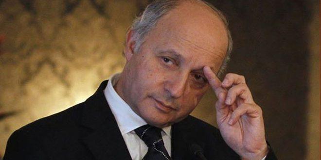 """وثائق جديدة تكشف تورط فابيوس ودبلوماسيين فرنسيين في تمويل """"النصرة"""" و""""داعش"""" في سورية"""