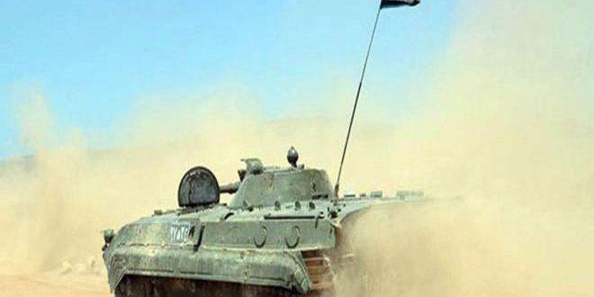 الجيش يستعيد السيطرة على قرية خشام بريف دير الزور