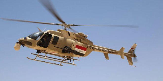 سلاح الجو العراقي يقضي على 25 إرهابياً في صحراء الأنبار