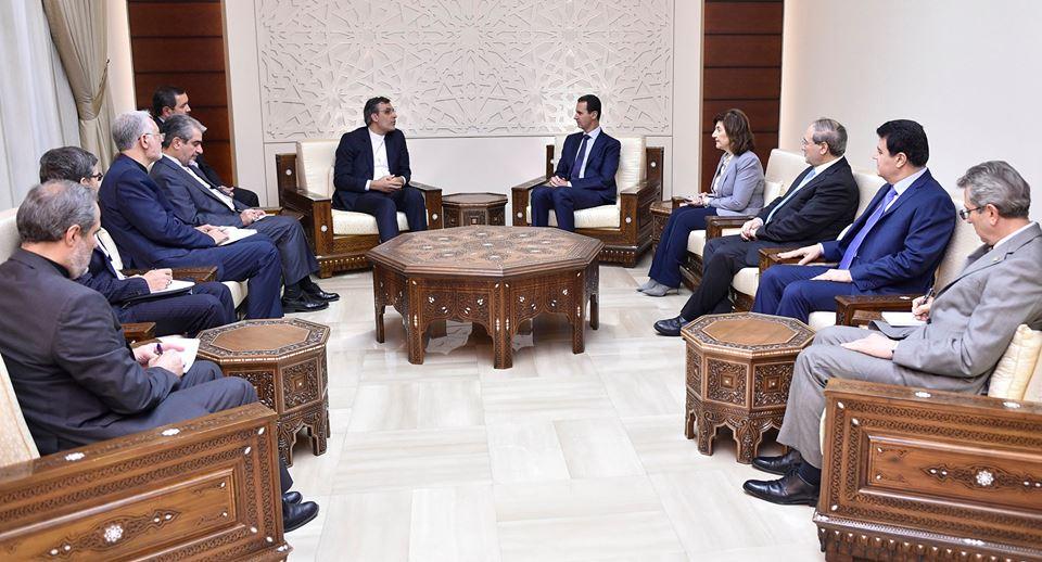 الرئيس الأسد: مواقف سورية والدول الحليفة لها ساهمت بهزيمة الإرهاب وتكريس القانون الدولي