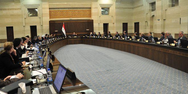 مجلس الوزراء يناقش مشروع مرسوم يتعلق برفع أجر الساعات التدريسية الإضافية للمكلفين إلى الضعف