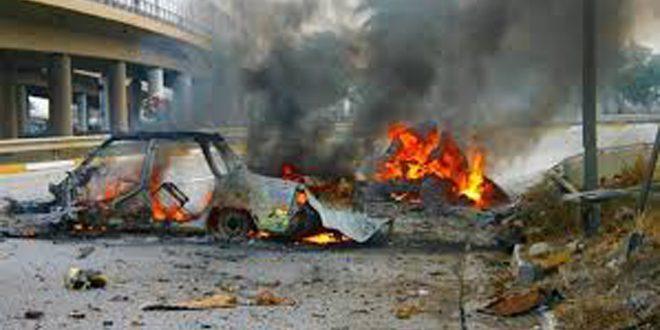 مقتل عراقيين اثنين في تفجير إرهابي بمدينة الموصل