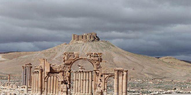 روسيا تهدي سورية نموذجاً رقمياً ثلاثي الأبعاد لمدينة تدمر الأثرية