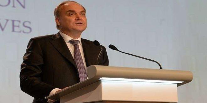 انطونوف: البيان الروسي الأميركي بشأن سورية يبعث على التفاؤل