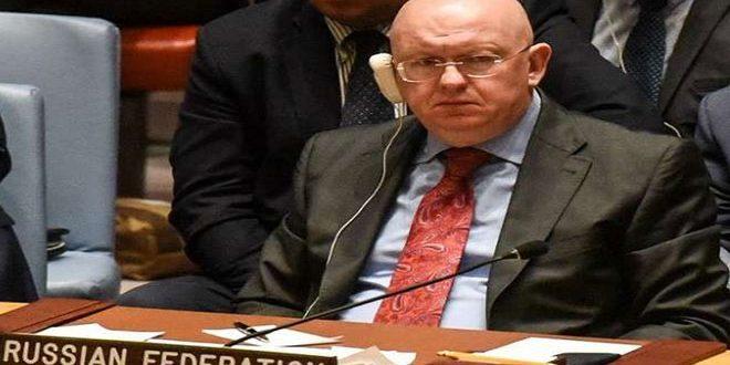 روسيا تؤيد تمديد مهمة الآلية المشتركة للأمم المتحدة ومنظمة حظر الأسلحة الكيميائية في سورية ولكن بتفويض معدل