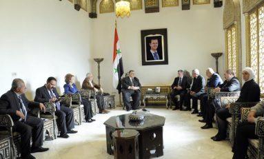 مباحثات سورية بيلاروسية  لتفعيل التواصل البرلماني