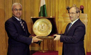 حفل وداع للسفير الباكستاني  بمناسبـــة انتهــــاء مهامــــه