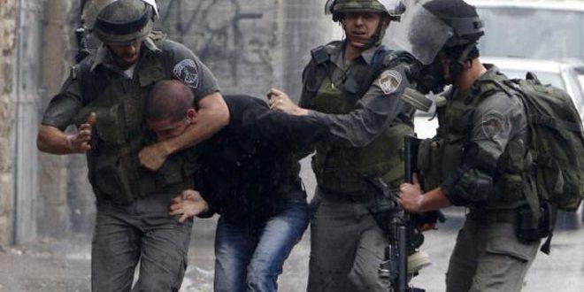 الاحتلال الإسرائيلي يعتقل 9 فلسطينيين بالضفة الغربية