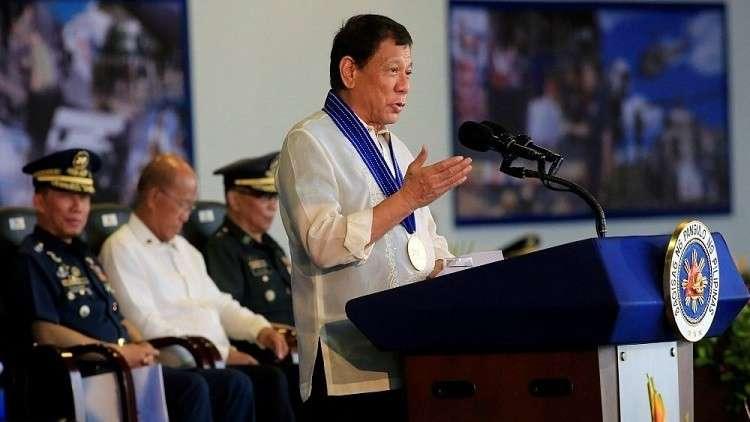 الرئيس الفلبيني يؤكد استمراره في حربه على تجارة المخدرات