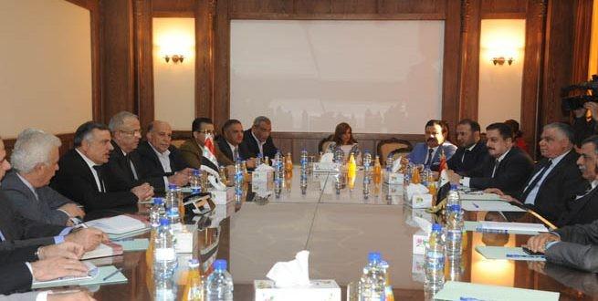 وزارة الكهرباء توقع اتفاقية تبادل الكهرباء مع العراق رسمياً