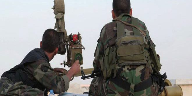 الجيش يستعيد السيطرة على تل الظهر الأسود ومزارع النجار بريف دمشق الجنوبي الغربي