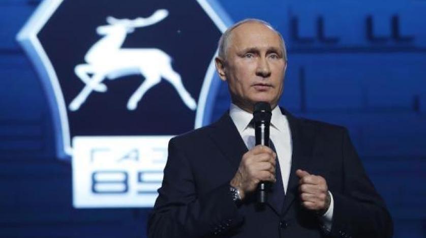 بوتين يعلن ترشّحه للانتخابات الرئاسية المقبلة.. والروبل يرتفع أمام الدولار واليورو