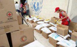 """""""غير مخصص للبيع"""".. المساعدات الإنسانية في اللاذقية برسم البيع تجارة رائجة تنافس السلع المحلية.. والمهجّرون: نريد المال لنعيش"""