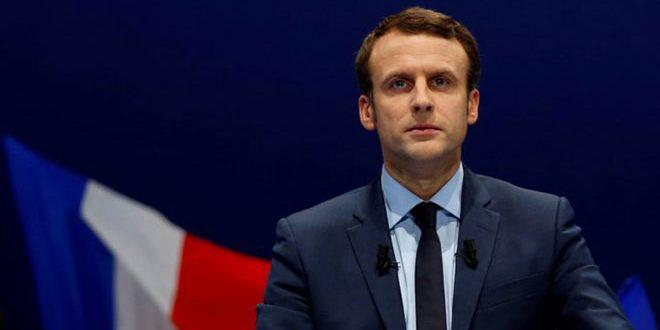 ماكرون: سنسعى لدعم وإحلال الاستقرار في سورية