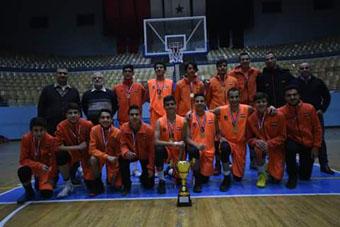 الوحدة يحتفظ بلقبه كبطل لكأس الاتحاد للناشئين بكرة السلة
